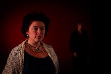 """Anne Fossen er vokalist i forestillingen """"en palestinsk reise"""""""