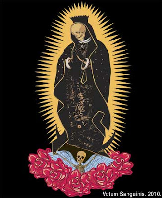 Virgin of Guadalupe Dead Skull Tattoo