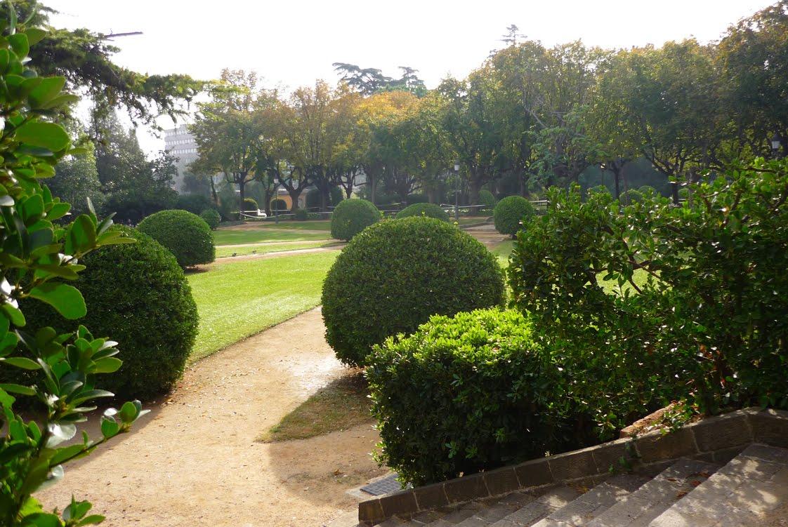 Veo veo jardins del palau de pedralbes 37 - Jardins del palau ...