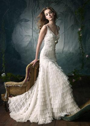 Lazaro bridal dress style lz3851
