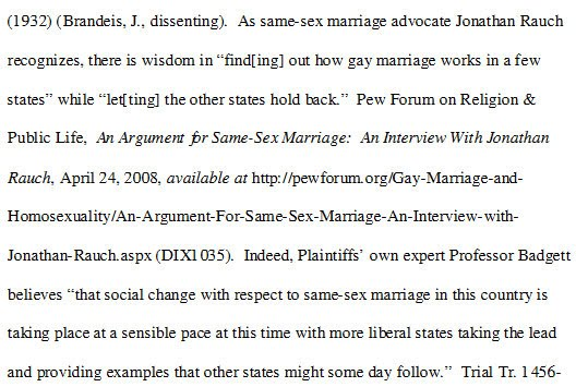 ... the Quisling site Independent Gay Forum, is cited in Protect Marriage's ...
