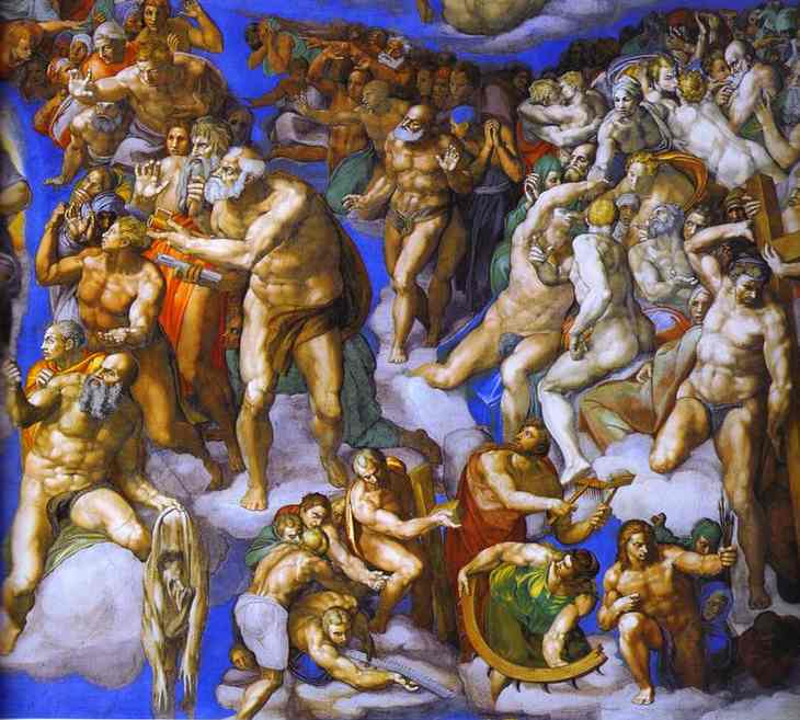 a painting analysis of the last judgement by michelangelo The last judgement by michelangelo in rome december 15, 2017 leave a comment works of art the last judgement is the name of the fresco located on the wall behind the altar of the sistine chapel in rome .