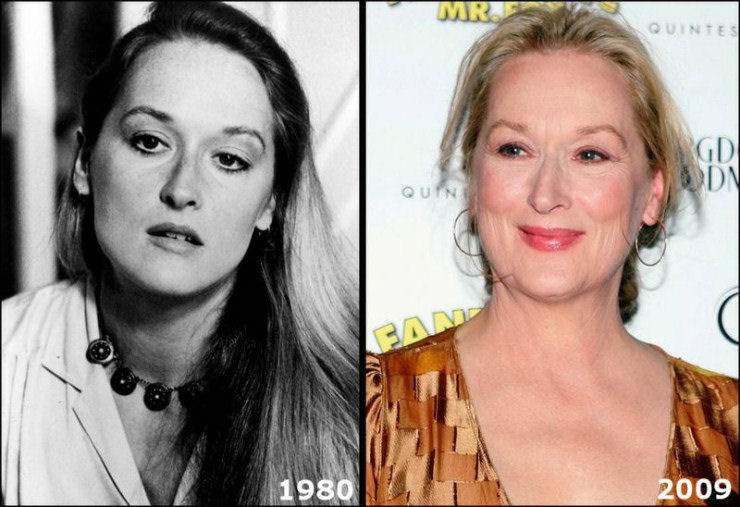 Maryl+Streep,++60+anos - How fast time flies... - Family & Parenting