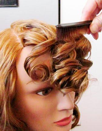 fun hairstyles for short hair : Sarah Smiles: The Wave, Vintage Hair Tutorial Part 2