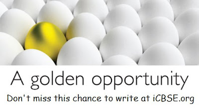 a+golden+opportunity Contribute to CBSE blog to get famous...