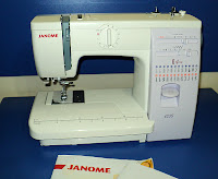 janome sewing machine, janome 423s, janome diki makinas