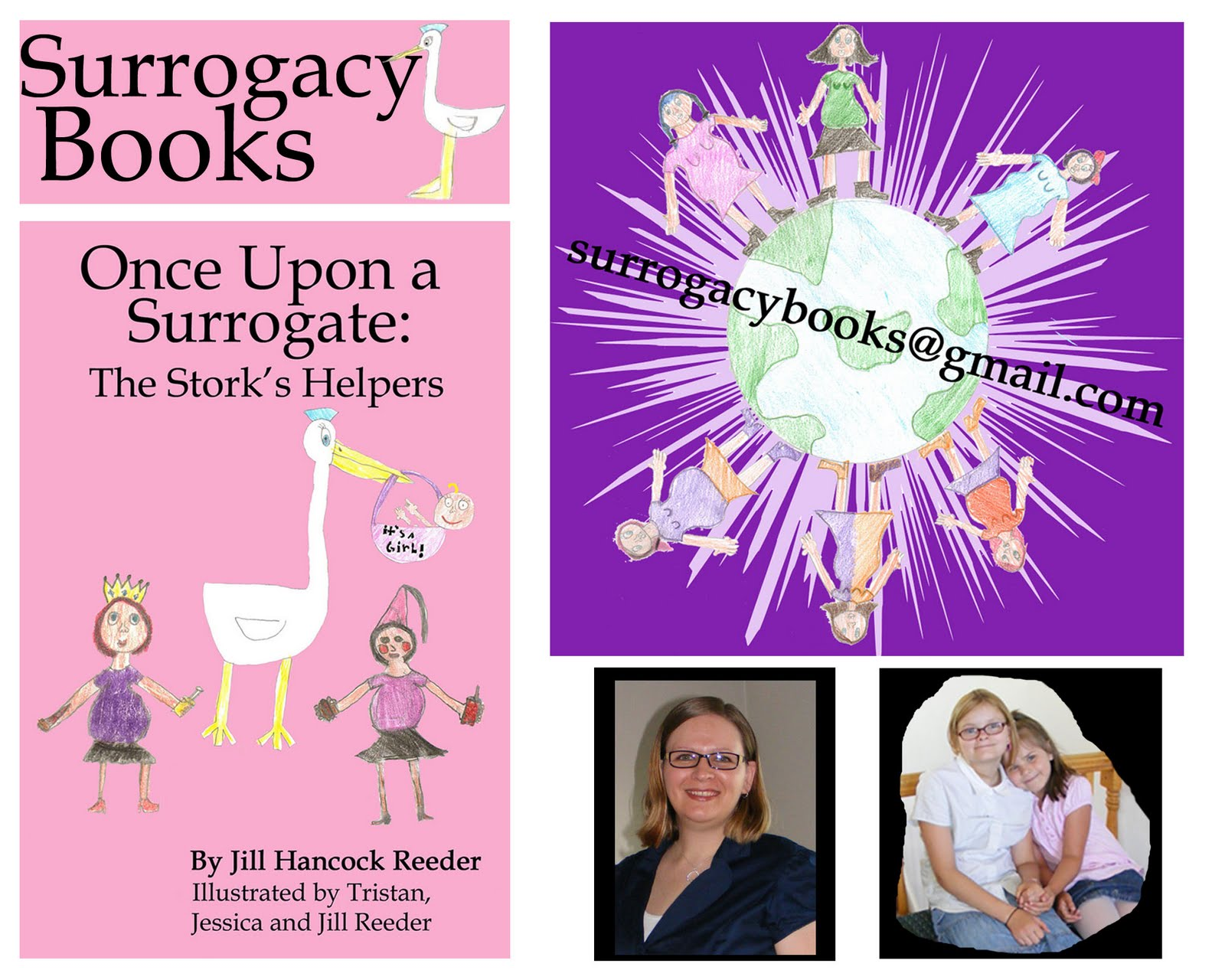 Author Interview & Book Giveaway: Once Upon a Surrogate: The Stork\'s ...