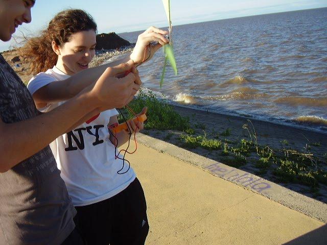 Experimentación en el río: