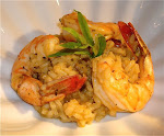 Shiitake Mushroom Risotto with Shrimp
