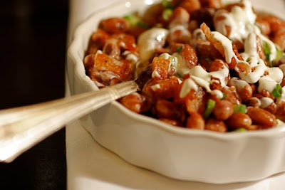 "Taste With The Eyes: Anasazi ""baked potato"" Beans"