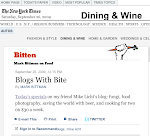 Thank You Mark Bittman, Mike Licht, and The New York times