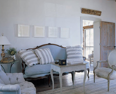 French Provincial Living Room  on Another View Of The Living Room  Striped Pillows Are The Only