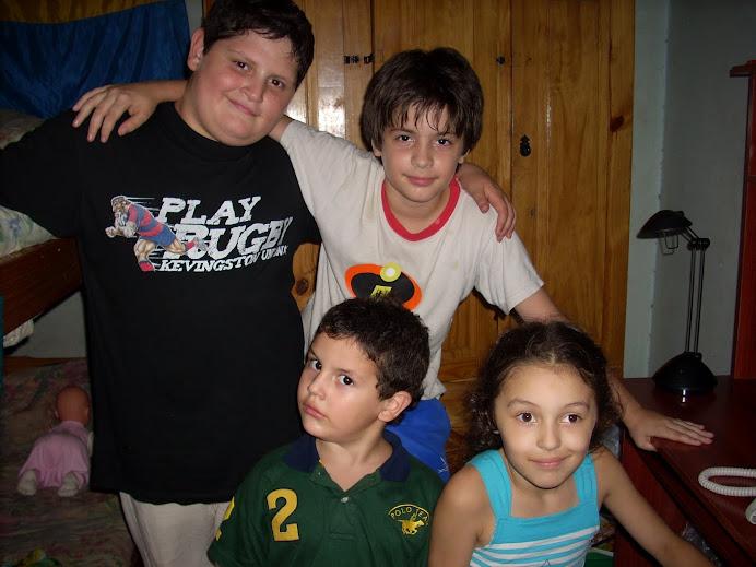 Los 4 fantásticos (primos)