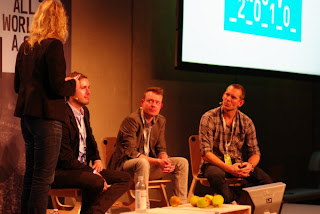 DIskussion af mobile apps til New Media Days 2010