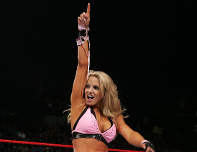 Trish Stratus , the hot WWE diva