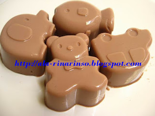 repot dan ribet maka jadilah puding coklat ini puding andalan di rumah ...