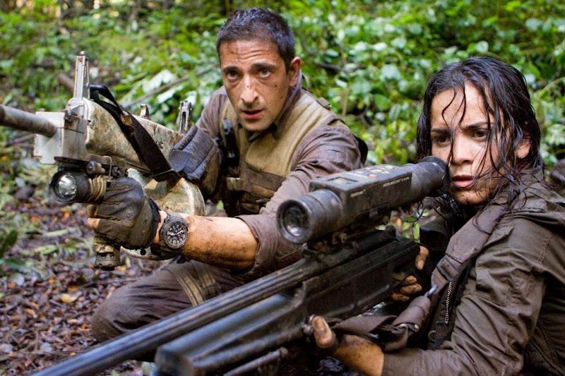 Adrien Brody e Alice Braga Predadores