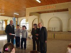 Diplomas de Agradecimiento a Quienes Colaboraron