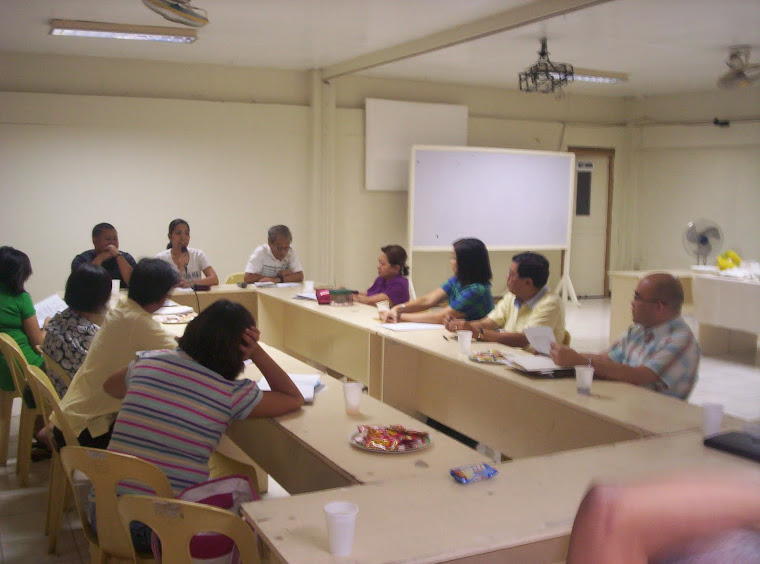 Vicariate of the Holy Family-Meeting April 14 2010