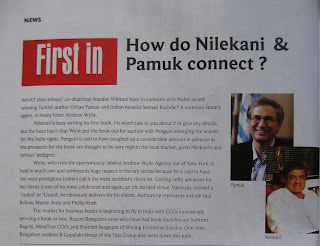 First In: How do Nilekani and Pamuk connect?
