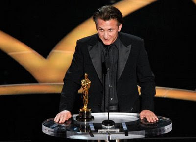 Sean Penn - Oscar for Best Actor for his portrayal of gay rights champion ...