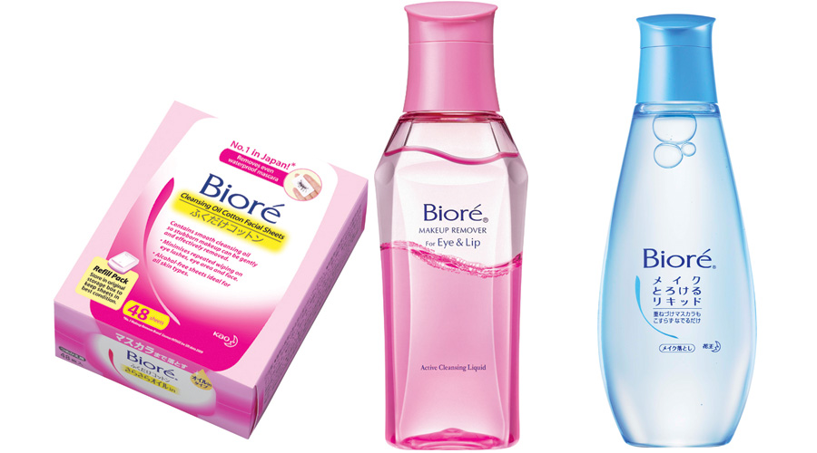 This time round, The Sample Store sent me a series of make up removers, with courtesy from Bioré for me to try and review on.