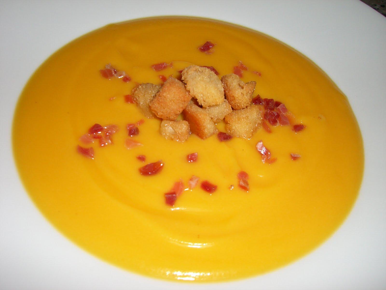 Crema de calabaza y coliflor utilizando thermomix cocina for Cocina thermomix facil