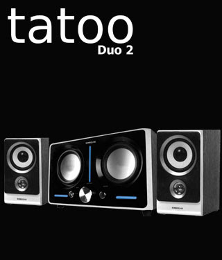 Sonic Gear TATTOO DUO 2 REVIEW - 2.1 SPEAKER