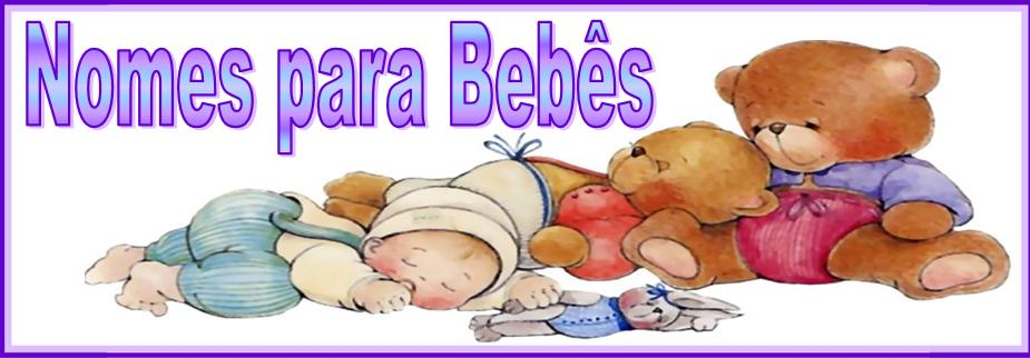 Nomes de Bebês online
