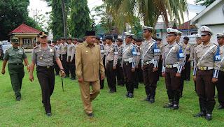 Amankan Natal dan Tahun Baru, TNI/Polri Gelar Pasukan