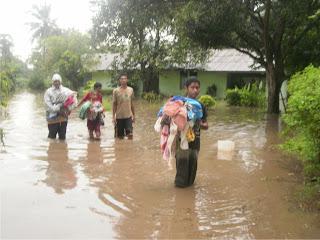 Kota Bima Dilanda Banjir