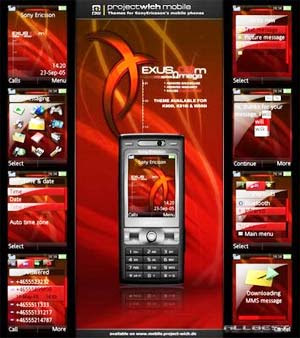 Como descargar temas para el celular sony ericsson w200