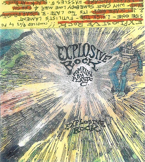 Explosive Rock comp! by Steve Krakow. Further adventures into battered, broken and bizarre rock and roll!
