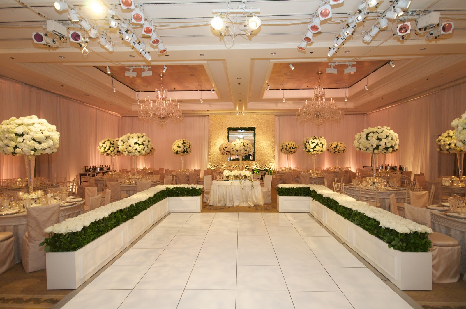 It Was An Amazing Transformation With Ceremony And Reception In The Same Room