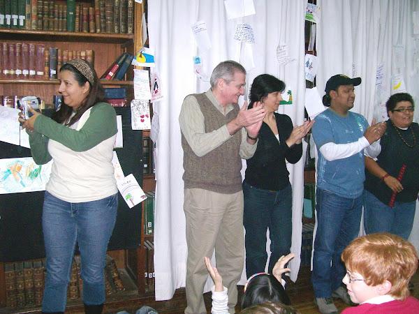 Nos visitan narradores hermanos latinoamericanos!