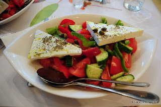 Greek salad Athens