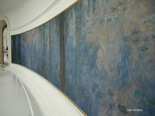 Claude Monet water lilies painting Nympheas