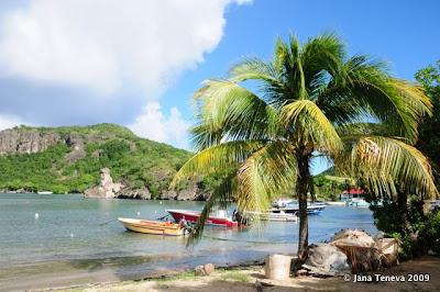 Les Saintes Plage Guadeloupe