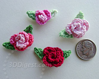 Grandmother's Pattern Book » free crochet rose afghan pattern