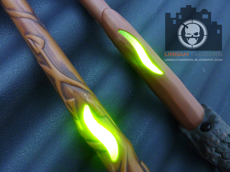 Urban taggers lazer tag harry potter battling wands for Most powerful wand in harry potter