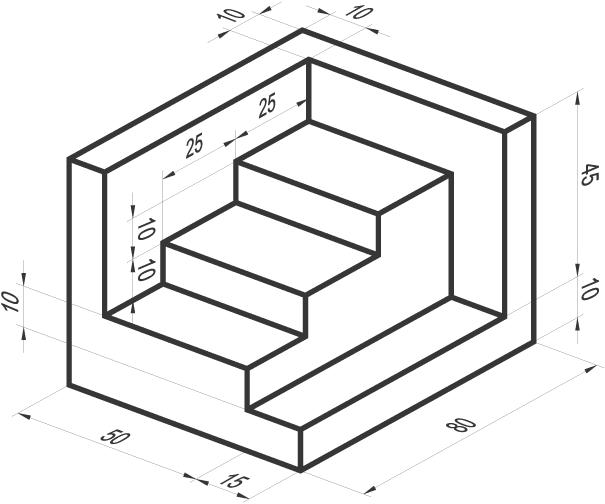 Ing mecatronica figuras 3d for Plano de planta dibujo tecnico