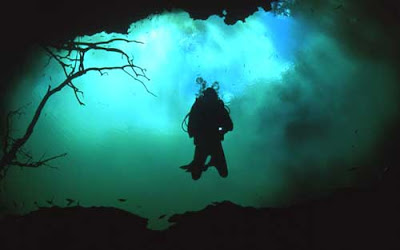 Cenote Angelita  Sungai Bawah Laut mexico