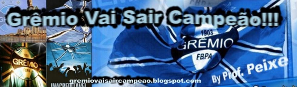 Grêmio Vai Sair Campeão!!!