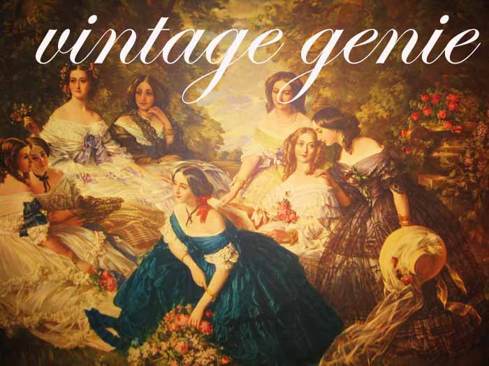 Vintage Genie: My Cameo Gals & a Guy... About Cameo Creations