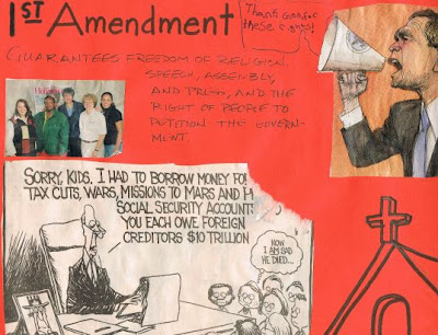 1st amendment poster