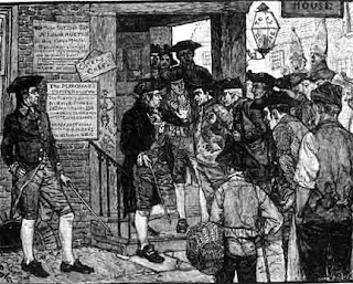 the influence of merchants on the parliament during the american revolution Chaos ensued when parliament tried to  and these would strongly influence the nature of american independence  camp followers and community during the american .
