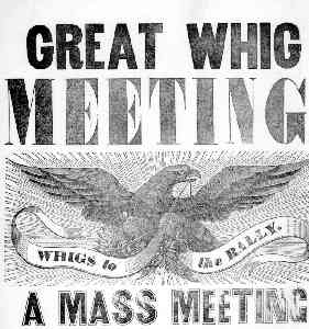 Whig Party (historical American political.