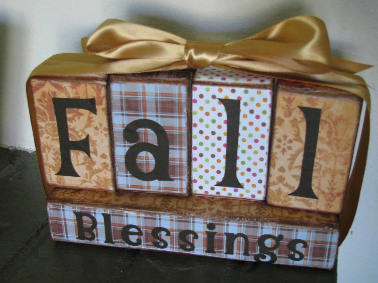 My crafty playground fall blessings give thanks wood for Where to buy wood blocks for crafts
