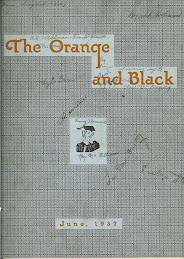 The 1937 Orange and Black