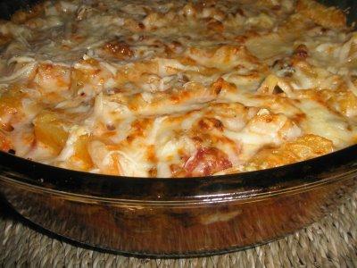 Cocina al minuto macarrones con carne al horno - Macarrones con verduras al horno ...